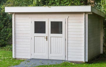 Omagh garden shed costs